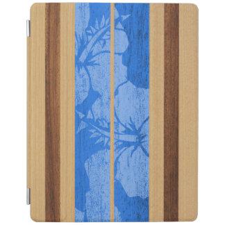 Haleiwa Surfboard Hawaiian FauxWood iPadSmartCover iPad Smart Cover
