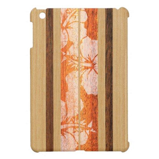 Haleiwa Surfboard Hawaiian iPad Mini Cases