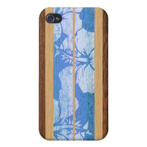 Haleiwa Surfboard Hawaiian iPhone 4/4S Case