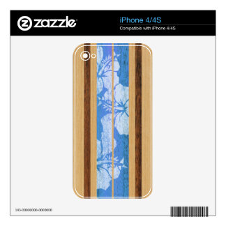 Haleiwa Surfboard Hawaiian iPhone 4/4S Skin iPhone 4 Decal