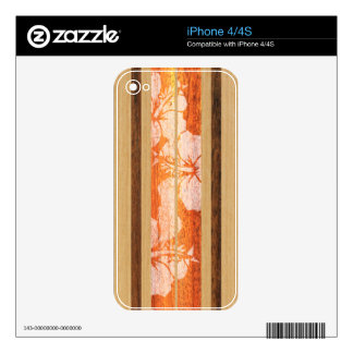 Haleiwa Surfboard Hawaiian iPhone 4/4S Skin Skin For iPhone 4