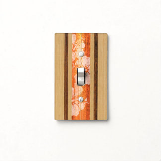 Haleiwa Surfboard Hawaiian Light Switch Cover