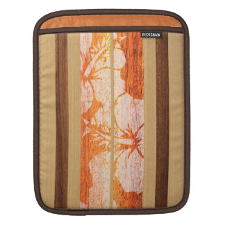 Haleiwa Surfboard Hawaiian Rickshaw iPad Case iPad Sleeve