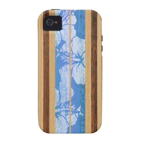 Haleiwa Surfboard Hawaiian Vibe iPhone 4 Cases