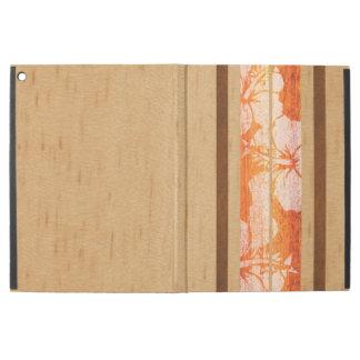 Haleiwa Surfboard Vintage Hawaiian Faux Wood iPad Pro Case