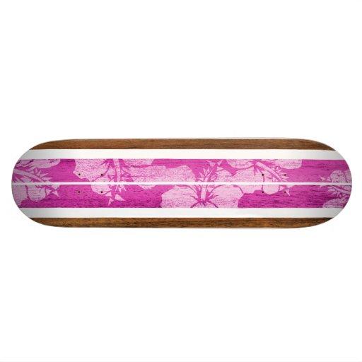 Haleiwa Vintage Surf Skateboard