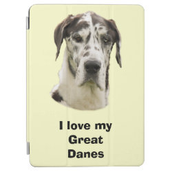 iPad Air Cover with Great Dane Phone Cases design