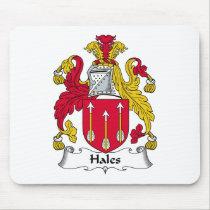 Hales Family Crest Mousepad