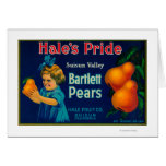 Hale's Pride Pear Crate LabelSuisun, CA