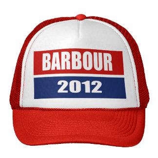 HALEY BARBOUR 2012 TRUCKER HATS