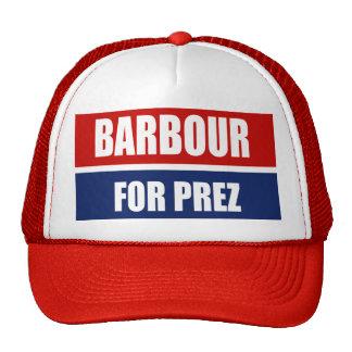 HALEY BARBOUR 2012 MESH HATS