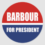 HALEY BARBOUR 2012 STICKERS