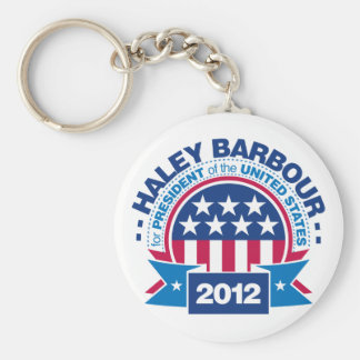 Haley Barbour for President 2012 Keychain
