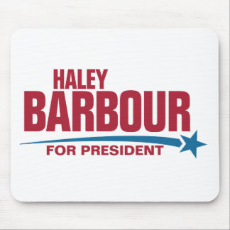 Haley Barbour for President Mouse Pad