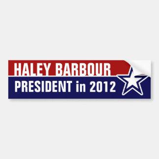 Haley Barbour in 2012 Bumper Sticker