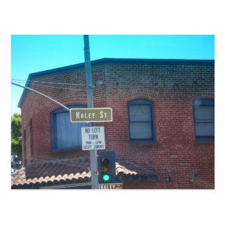 Haley Street, Santa Barbara, CA Postcard