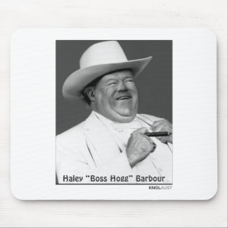 """Haley """"the Hogg"""" Barbour Mouse Pad"""