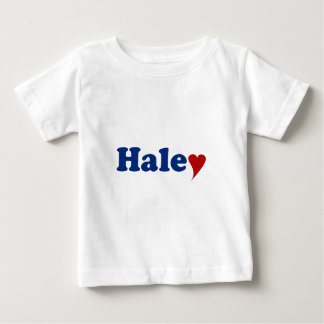 Haley with Heart Baby T-Shirt