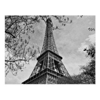 Half a Eiffel Tower Postcard