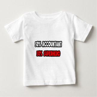 Half Accountant ... Half Superhero Baby T-Shirt