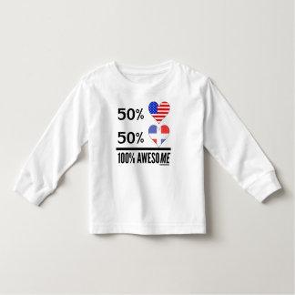 Half American Half Dominican Shirts