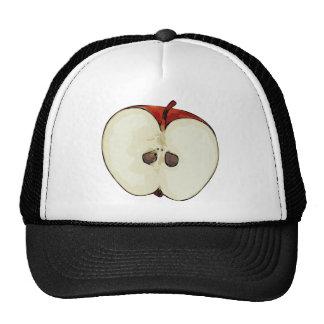 Half Apple Trucker Hat