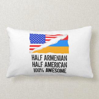 Half Armenian Half American Awesome Pillow
