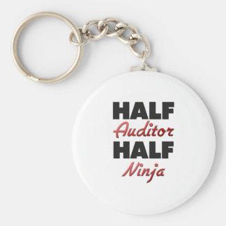 Half Auditor Half Ninja Keychain