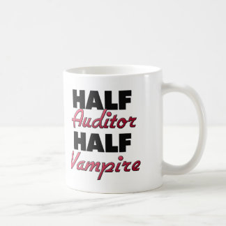 Half Auditor Half Vampire Mugs