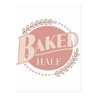 Half Baked Idea - Funny American Saying Postcard