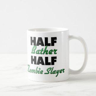Half Bat Boy Half Zombie Slayer Classic White Coffee Mug