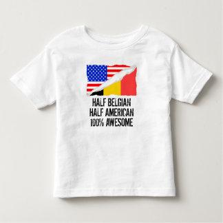 Half Belgian Half American Awesome Toddler T-shirt