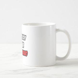 Half Biology Teacher...Half Superhero Coffee Mugs