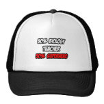 Half Biology Teacher...Half Superhero Trucker Hat