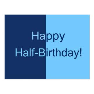 Half Birthday Card