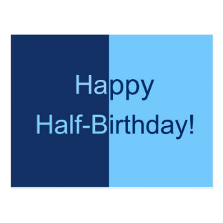 happy half birthday cards  zazzle, Birthday card