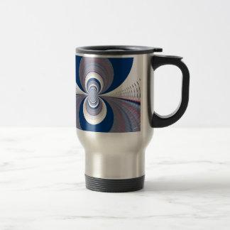 Half Blue Travel Mug