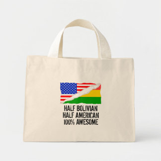 Half Bolivian Half American Awesome Mini Tote Bag
