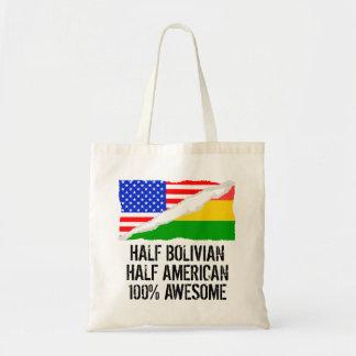 Half Bolivian Half American Awesome Tote Bag