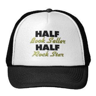Half Book Seller Half Rock Star Trucker Hat