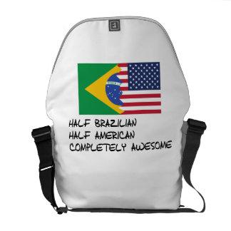 Half Brazilian Completely Awesome Messenger Bag