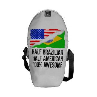 Half Brazilian Half American Awesome Messenger Bag