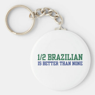 Half Brazilian Key Chain