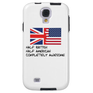 Half British Completely Awesome Galaxy S4 Case