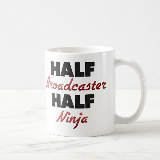 Half Broadcaster Half Ninja Coffee Mug