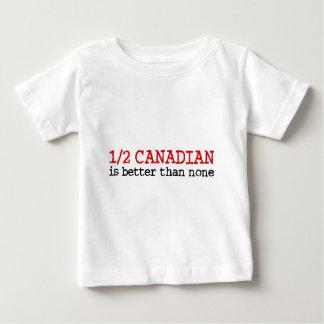 Half Canadian Baby T-Shirt