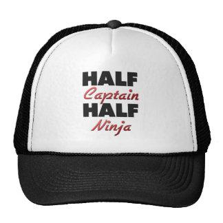 Half Captain Half Ninja Trucker Hat