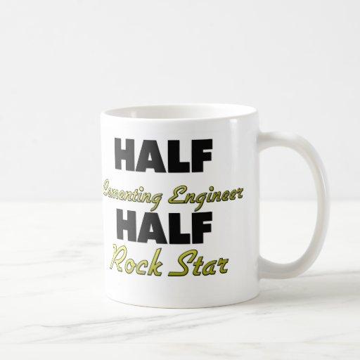 Half Cementing Engineer Half Rock Star Mug