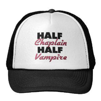 Half Chaplain Half Vampire Trucker Hat