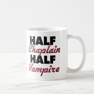 Half Chaplain Half Vampire Coffee Mugs